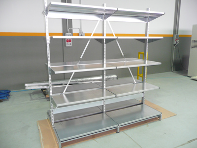 Photo Gallery Galvanized racks for stores