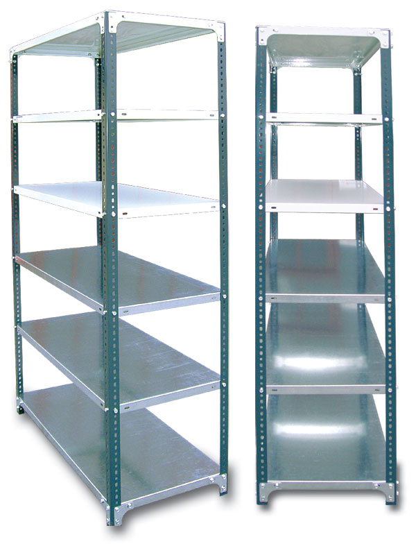 Metal Shelves - Stalaze Velika