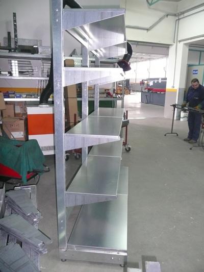 Foto Galerija - Trgovačke police - pocinčane gondole